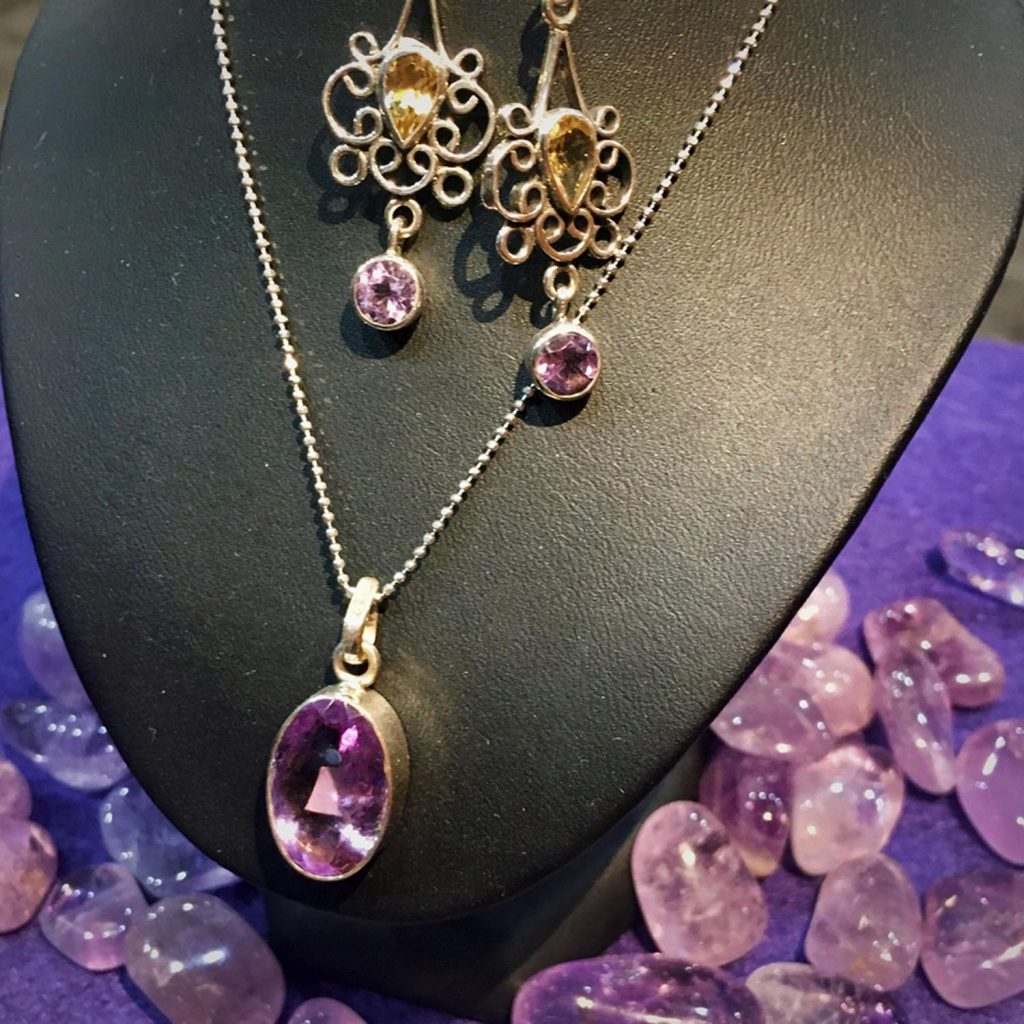 Amethyst and Citrine