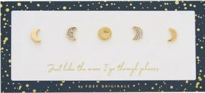 Moon Phases Studs